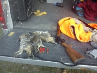 2012 Grouse hunt at Camp Buckshot.